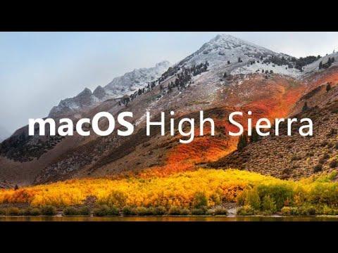 macOS Sierra vs High Sierra SpeedTest!