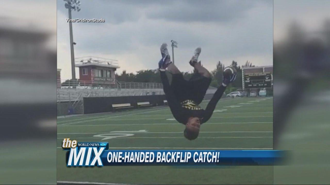 One-handed Backflip Catch