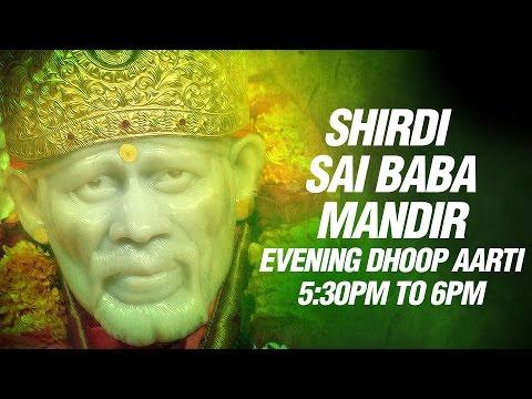 Shirdi Ke Sai Baba Mandir Live Suryasta Aarti - By Parmodh Medhi...