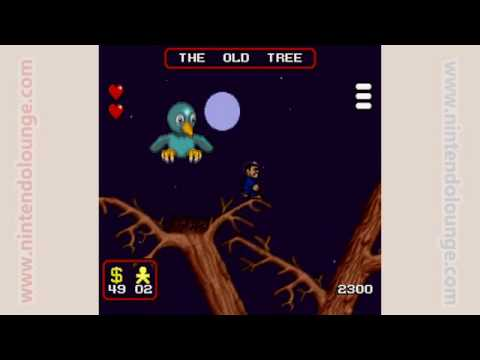 Addams Family (SNES) The Old Tree