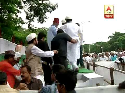 CM Mamata Banerjee celebrating EID at Red road