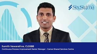 Sumith Nawarathna, CLSSBB |  Continuous  Process Improvement Senior Manager , Camso