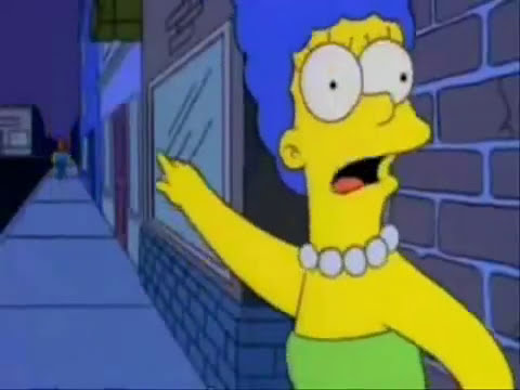 Bad Romance- Marge Simpson
