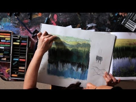 How to Draw a Mountain | Drawing Tutorials