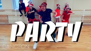 PARTY - Chris Brown, Usher, Gucci Mane Hip-Hop Dance | choreography by Andrew Heart #PartyChallenge