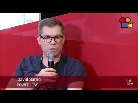 Interview David Sarrio - Réalisateurs Powerless @ Off-Courts 2017