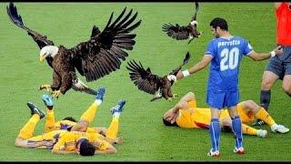 لقطات طريفة ومضحكة في عالم كرة القدم 2016  HD
