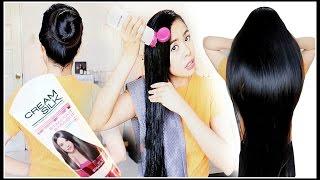 TESTING CreamSilk Hair Commercial BUN Drop TEST-DOES IT WORK? Beautyklove
