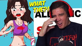 "Reacting To A ""True"" Story Animation Of A Girl Allergic To Her Own Sweat (Share My Story)"