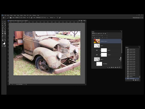 Photoshop - Ink an paint a photo