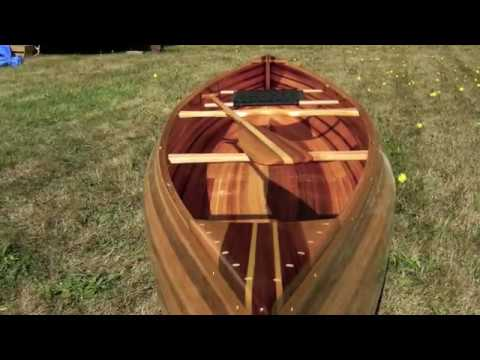 Making my first cedar strip canoe.  Time lapse
