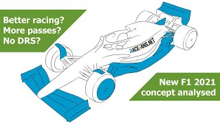 New 2021 F1 concept car analysed: How will it improve the racing?
