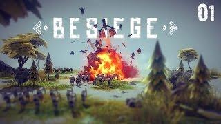 Besiege #001 - Der Shredder-Kreisel-Penetrator
