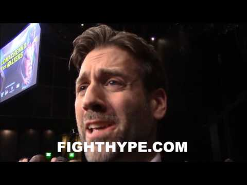 MAX KELLERMAN REACTS TO LOMACHENKO MAKING WALTERS QUIT; INSISTS HE'S #1 P4P FIGHTER