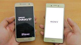Sony Xperia X vs Samsung Galaxy S7 - Speed Test! (4K)