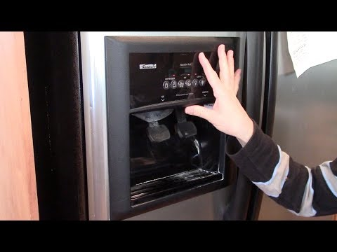 How to fix a dripping water dispenser - refrigerator repair Kenmore Whirlpool Supco