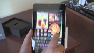 Nexus 7 hands-on and initial review