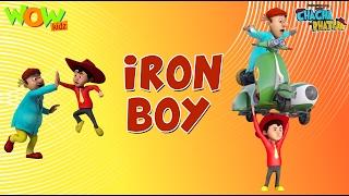 Download Iron Boy - Chacha Bhatija - Wowkidz - 3D Animation Cartoon for Kids  As seen on Hungama TV 3Gp Mp4