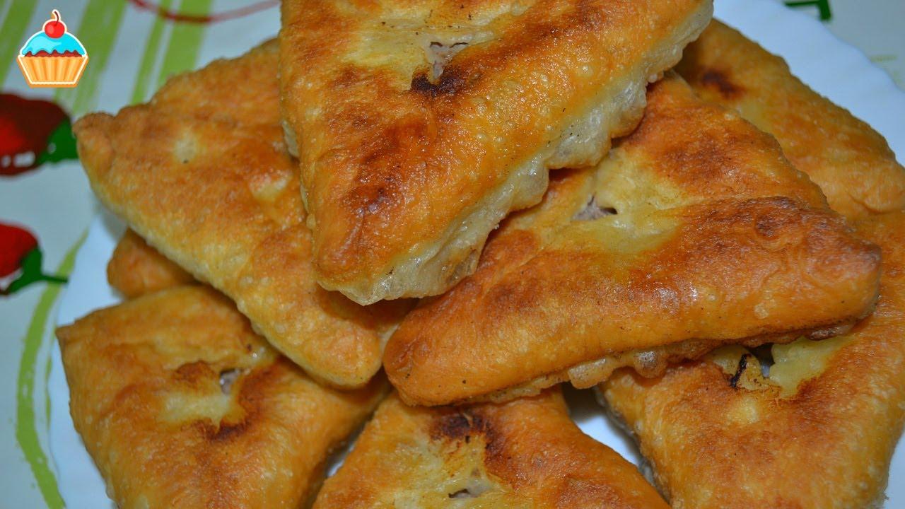 Пустышки на кефире жареные на сковороде рецепт с пошагово 4
