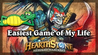 Hearthstone - Easiest Game of My Life