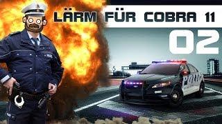Lärm mit Cobra 11 - #002 - Auf der Flucht vor der Pozilei [FullHD] [deutsch]