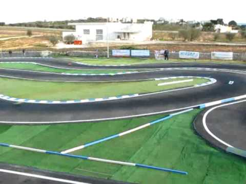 EFRA 1/8 pista RC european championship warm up 2010 Qualifiche batteria 5