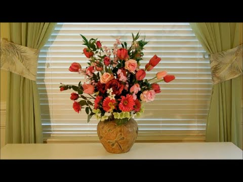 How To Arrange Silk Flowers Tutorial Different Styles Of