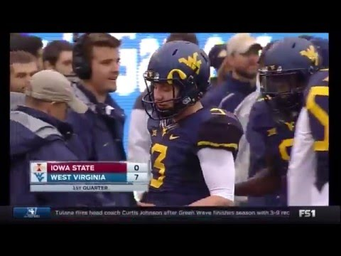 NCAAF 2015 11 28 Iowa State at West Virginia 720p60