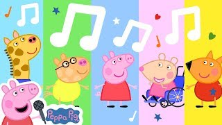 Peppa Pig Official Channel 🌟 Class Of Madame Gazelle  🎵 Peppa Pig My First Album 8#