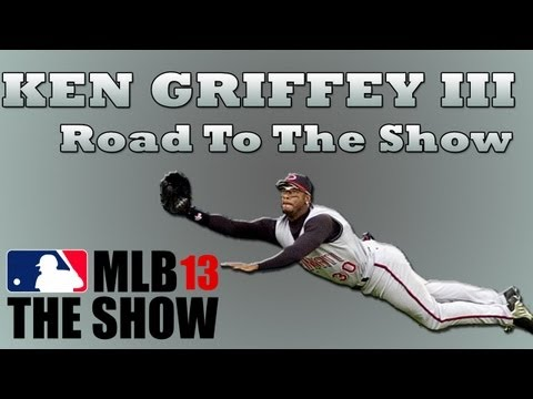 MLB 13 Road to the Show - LIVE with Ken Griffey III [EP10]