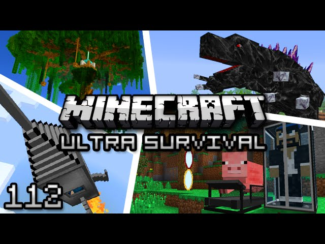 Minecraft: Ultra Modded Survival Ep. 112 - INTO THE DEPTHS