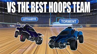 PLAYING VS. THE HIGHEST RANKED HOOPS PLAYERS W/ LETHAMYR