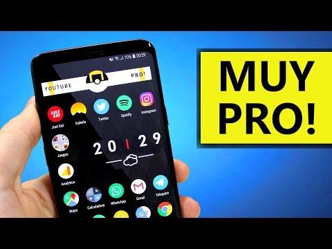 MEJOR PERSONALIZACIÓN Android 2018