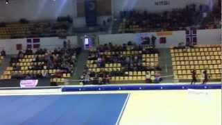 Denmark Tumbling - Junior Mix Qualification - TeamGym European Championships 2012