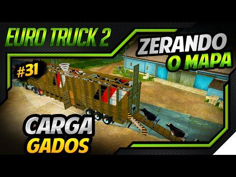 Euro Truck Simulator 2 - Mod Carga de Gados - Mapa DLC Scandinavia