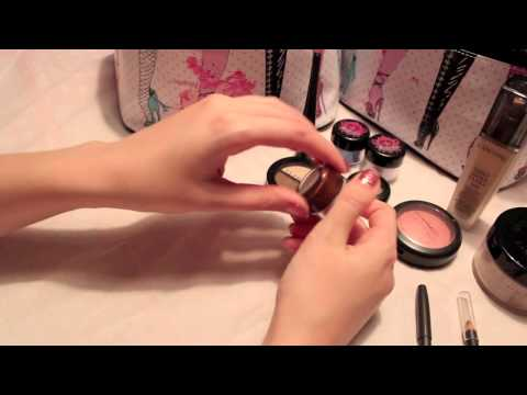 Makeup Collection ASMR (Whispering + Tapping) Part 1