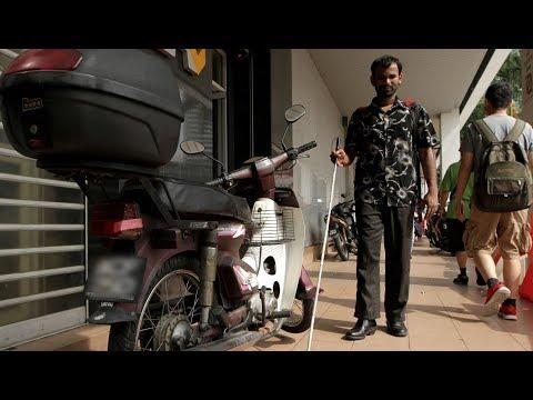 DBKL: Be considerate to blind pedestrians