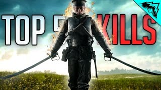 Battlefield 1 Top 5 LUCKIEST Kills (2 Plane Colat, Ghost Plane Road Kill, 5 Man Flare Gun) WBCW #165