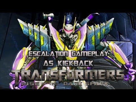 Transformers: Rise of the Dark Spark Escalation Multiplayer - Kickback Gameplay