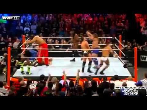WWE Royal Rumble 2012 Highlights - 30 Man Over-The-Top-Rope...