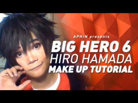 Hiro Hamada Cosplay Hiro Hamada Cosplay Makeup