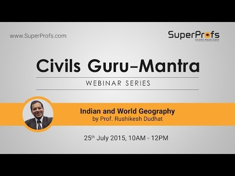 Indian and World Geography for the Civil Services Examination by  Mr Rushikesh Dudhat