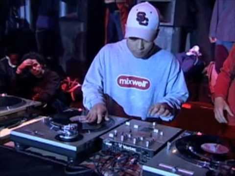 DJ Qbert - Prizms, Single T-table Scratch (No Mixer) & More