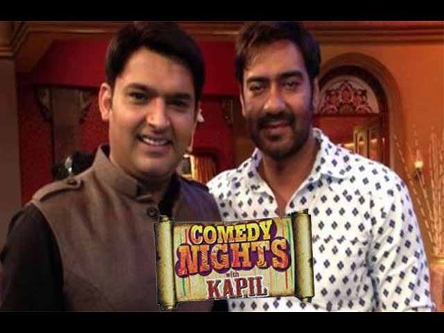 Ajay Devgan To Visit Kapil Sharma's Show Comedy Nights With Kapil