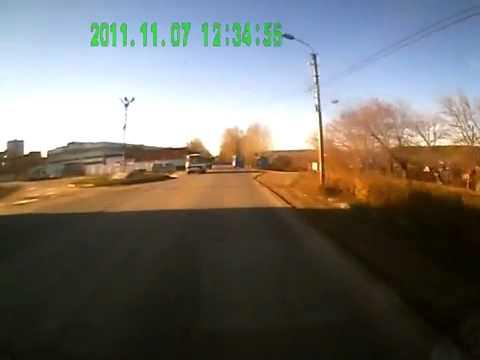 Жесть ДТП с пешеходом. Как не надо переходить дорогу