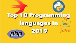 Top 10 Best Programming languages 2019