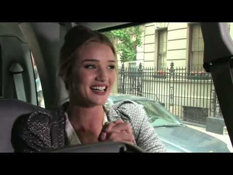 Rosie Huntington-Whiteley: A Day In The Life Of VS  Transformer Bombshell