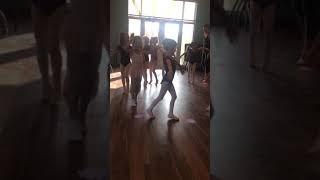 Lora first ballet class