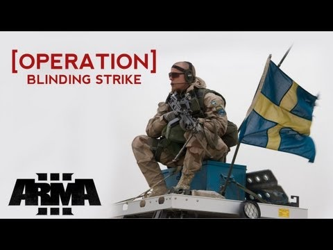 Swedish Special Forces Operation Blinding Strike
