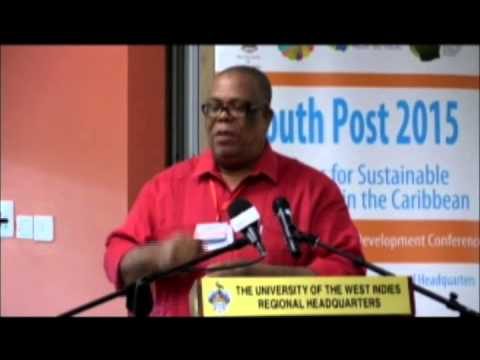 SALISES Caribbean Youth Development Conference 2015-ROUNDTABLE: Agenda for Youth Post 2015